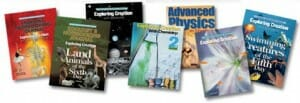 Homeschool Science books at Homeschool Convention