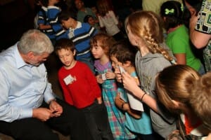 Ken Ham and Children at Teach Them Diligently Convention 2012