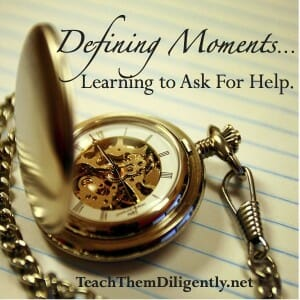 Encouragement Homeschool Convention- Defining Moments