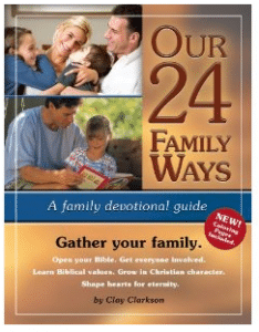 Clay Clarkson's 24 Family Ways Homeschool Convention Giveaway