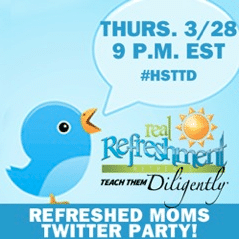 Refreshed Moms Twitter Party