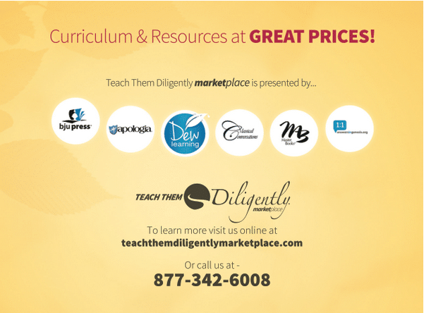 Teach Them Diligently Marketplace
