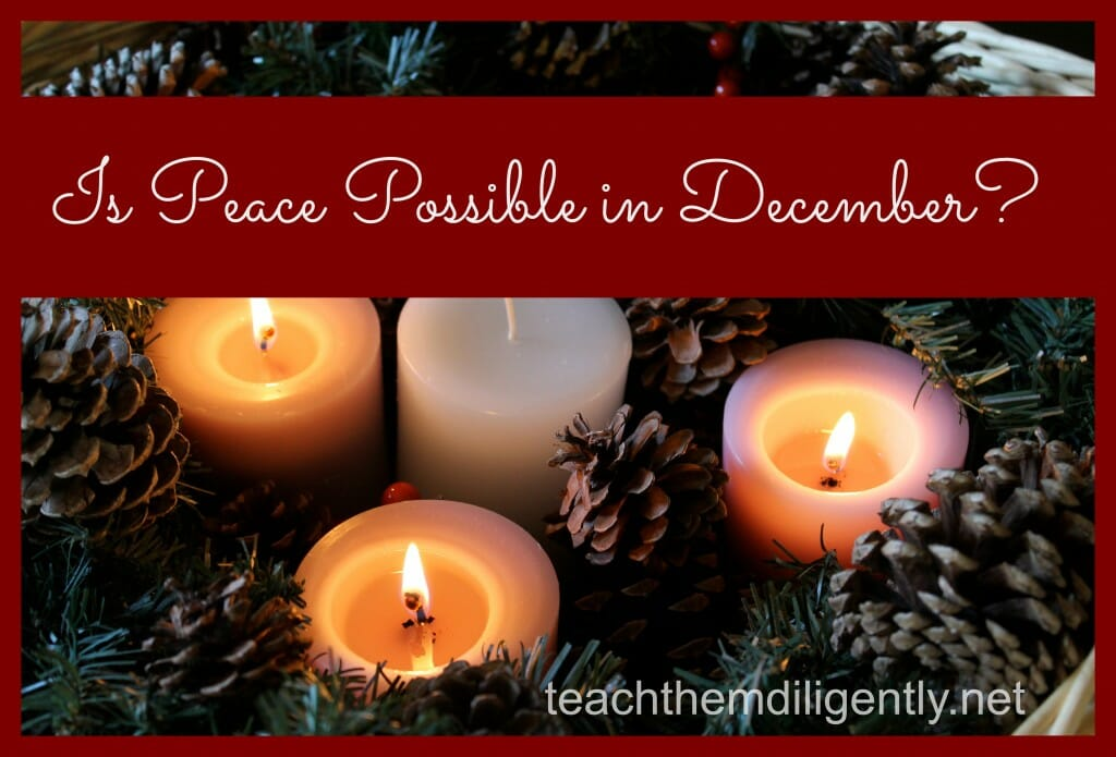 Is Peace Possible in December