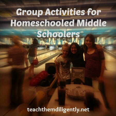 Group Activities for Homeschooled Middle Schoolers