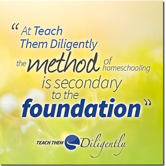 The Foundation of Homeschooling is important.