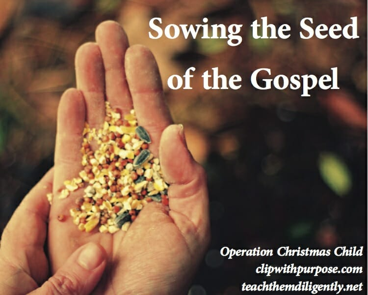 Sowing the Seed of the Gospel