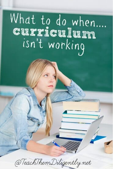 What to do when curriculum isn_t working