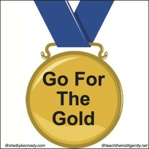 Go for the Gold! Partner with The Shelby Kennedy Foundation