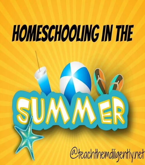 Homeschooling in the Summer