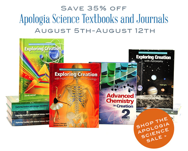 Save 35% on Apologia Resources