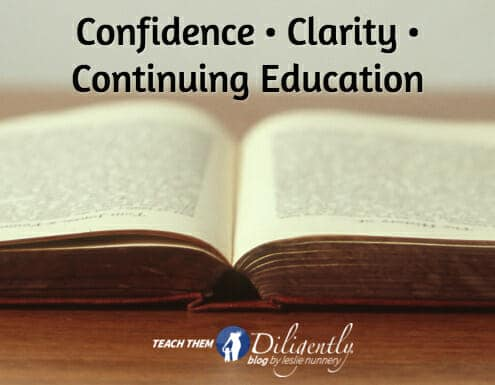 Confidence • Clarity • Continuing Education