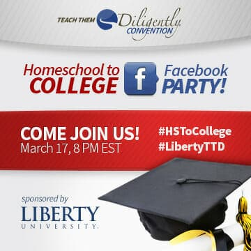 Homeschool to College Facebook Party