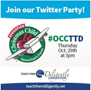 Twitter Party with #OCCTTD