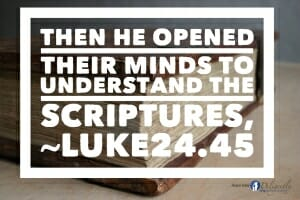 Opened Minds To Understand the Bible