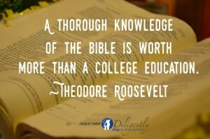 Thorough Knowledge of the Bible